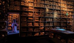 Pagine di Seta, Roberto Capucci all'Archivio Storico del Banco di Napoli (3)